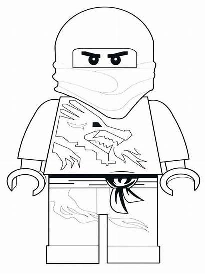 Lego Coloring Pages Ninjago Character Sheets Characters