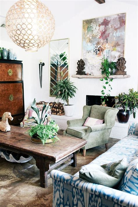 26 Bohemian Living Room Ideas