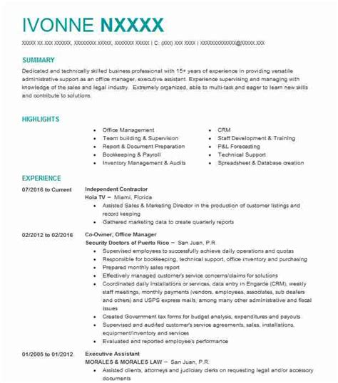 Contractor Resume by Independent Contractor Resume Sle Contractor Resumes