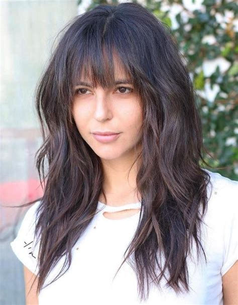Black Hairstyles With Bangs And Layers by 20 Stunning Brown Hair Cuts And Styles
