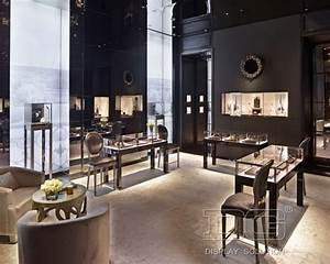 je76 high end jewelry store interior design display With interior decorator stores