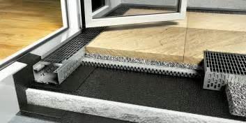 abdichtung balkon 15 cm hohe abdichtung oder eine fassadenentwässerung bei schwellenlosen balkon türen