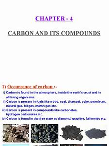 Carbon And Its Compounds Ppt Pptx