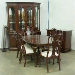 1925a ethan allen queen anne dining room set lot 1925a
