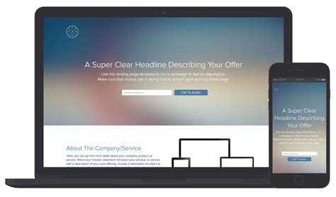 Free Landing Page Templates Landing Page Template And Exles Xtensio