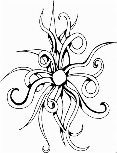 ranken bloemen ranken abstrakte kunst ausmalbild malvorlage blumen