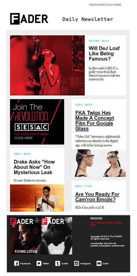 creative email newsletter design ideas inspiration