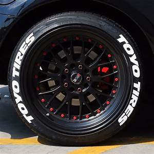 Toyo tires white tire lettering 15quot for 14quot 15quot 16 for How to blackout white letter tires