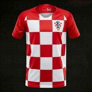 Croatia World Cup Home Jersey