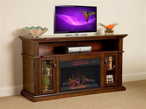 wallace  infrared empire cherry media console electric