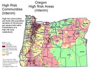 Oregon Forest Fire Map