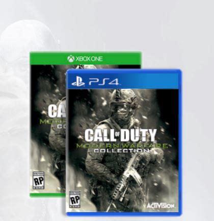 call  duty modern warfare collection ps xbox
