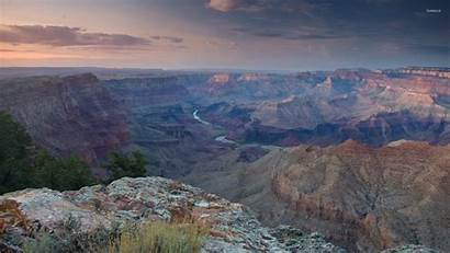 Canyon Grand Sunset Clouds Above Suwalls Wallpapers