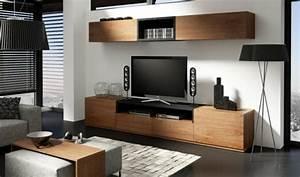 Amenagement cuisine ouverte sur salon 14 commode bois for Deco cuisine pour meuble tv bois
