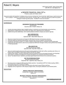 financial analyst resume sle canada cover letter for sales associate best resume cover letter