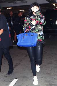 jenner leaving tyga s concert leather