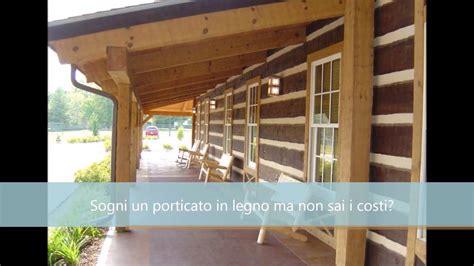 Calcolo Tettoia In Legno Lamellare by Costo Porticato In Legno Edilnet It