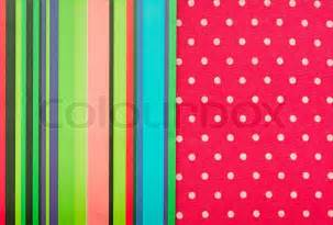 Colorful Polka Dot Border