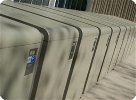 bike locker university housing