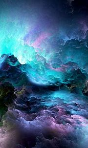 3D Graphics Wallpaper Background : Blue Abstract ...