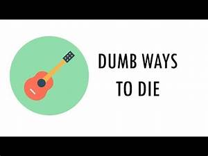 Dumb Ways To Die (Guitar Fingerstyle and Tabs) - YouTube