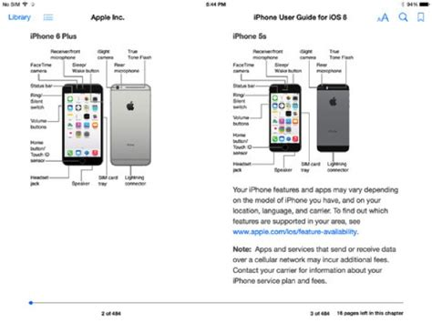 iphone manual ios 8 iphone user guide now available in