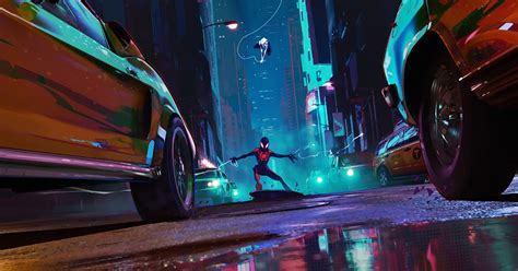 desktop wallpaper spider man   spider verse