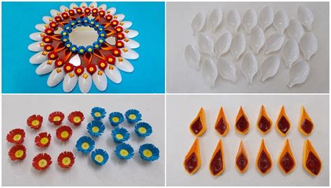 With reference to a size of clothing or to the size of a packaged commodity. DIY Plastic Spoons & Mirror Wall Decor - Art & Craft Ideas