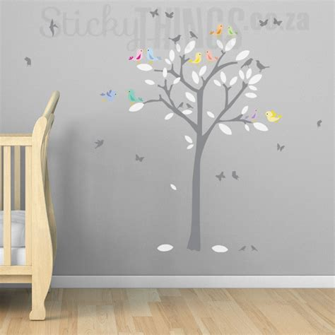 Love Birds Tree Decal And Wall Art Stickythingscoza