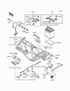 Kawasaki Klf220-a6 Parts List And Diagram