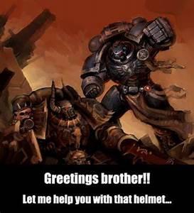 I CAST FIST Warhammer 40k Know Your Meme