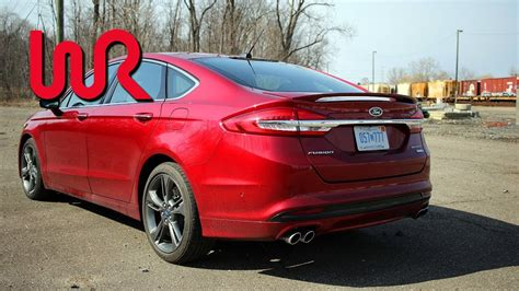 Ford Fusion 0 60 by 2017 Ford Fusion Sport Wr Tv Performance Test 0 60