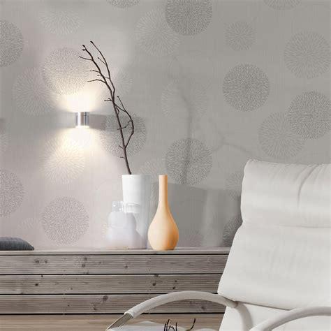 papier peint intissé spot bulles gris leroy merlin