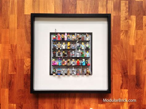 lego diy minifigure ikea ribba frame display lego frame lego minifigure display lego diy