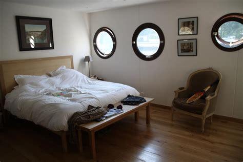 chambre peniche photo chambre et bateau déco photo deco fr