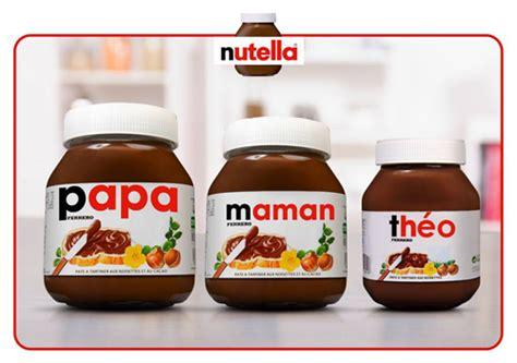 personnalisation pot de nutella personnalisation etiquette nutella