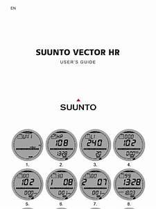 Suunto Vector Hr Manual