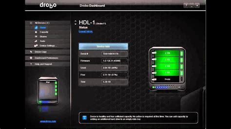 drobo dashboard login problem  youtube
