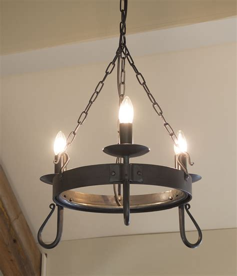 wrought iron lighting shepherds crook 3 light wrought iron chandelier
