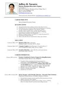 sle resume for fresh graduate elementary teachers in