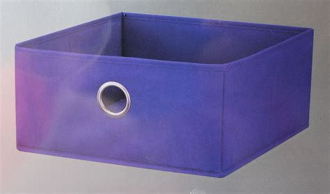 fabric storage bin tray organizer collapsible closet