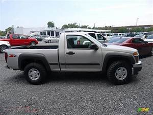 2004 Chevrolet Colorado Ls Z71 Regular Cab 4x4 In Silver