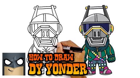 How To Draw Dj Yonder