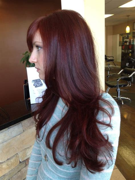 25 Best Ideas About Dark Red Hair Dye On Pinterest Red