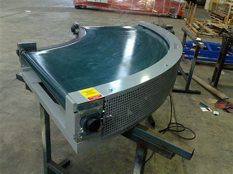 Powered Belt Curve Conveyors