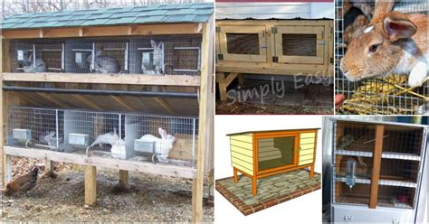 How To Make Your Own Rabbit Hutch by 10 Free Diy Rabbit Hutch Plans That Make Raising Bunnies