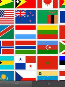 All Nations Flags