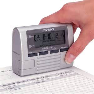 Portable Time and Date Stamper