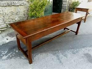 Table Ancienne De Ferme : table de communaut de ferme en noyer et ch ne xviiie 238 cm tables ~ Teatrodelosmanantiales.com Idées de Décoration