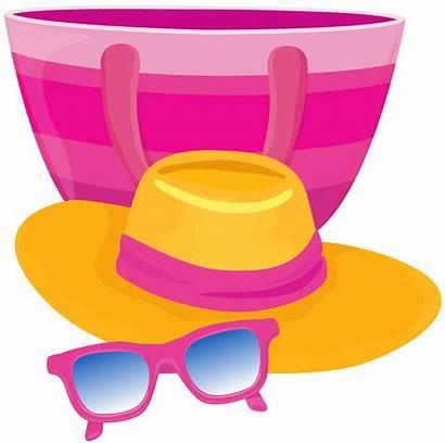 Hat Bag Glasses Sunglasses Clipart Transparent Yopriceville